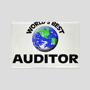 World's Best Auditor Rectangle Magnet