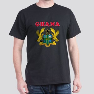 Ghana Coat Of Arms Designs Dark T-Shirt