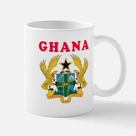 Ghana Coat Of Arms Designs Mug