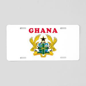 Ghana Coat Of Arms Designs Aluminum License Plate