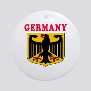 Germany Coat Of Arms Designs Ornament (Round)