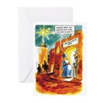 No Rum at the Inn Greeting Cards (Pk of 10)