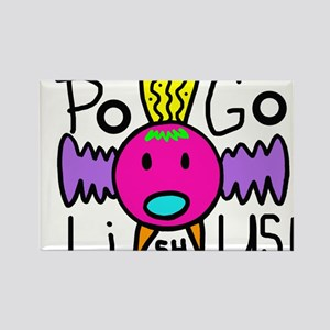 POGO design #10 Pogolishus Rectangle Magnet
