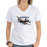 Lancaster Women's V-Neck T-Shirt