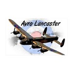 Lancaster 35x21 Wall Decal