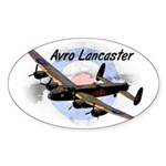Lancaster Sticker (Oval 50 pk)