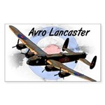 Lancaster Sticker (Rectangle 10 pk)