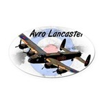 Lancaster Oval Car Magnet