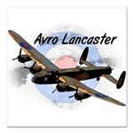 Lancaster Square Car Magnet 3
