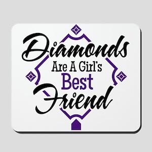 Diamonds P B Mousepad