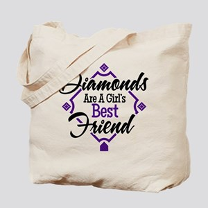 Diamonds P B Tote Bag