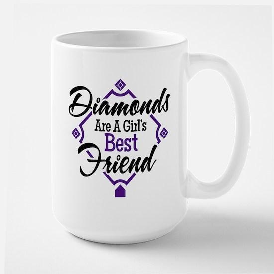 Diamonds P B Mug