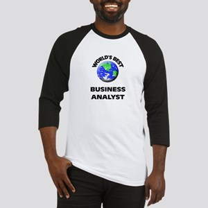 World's Best Business Analyst Baseball Jersey