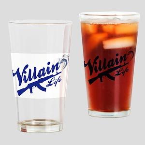 AK47 - Villain Life Drinking Glass