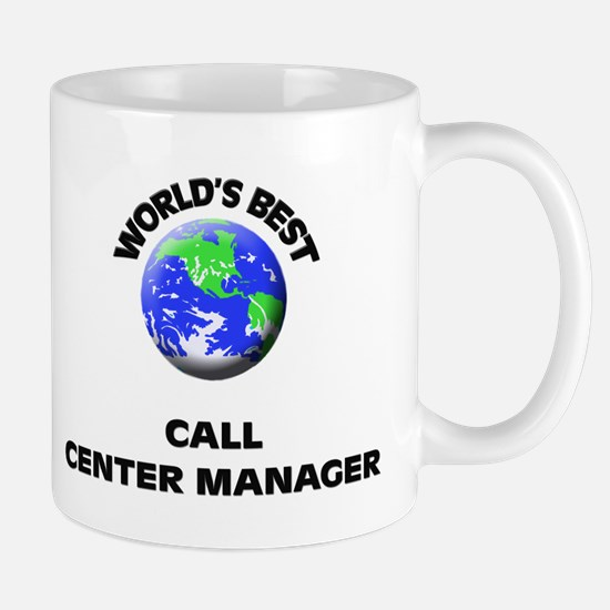 World's Best Call Center Manager Mug