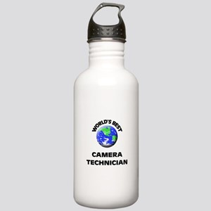 World's Best Camera Technician Water Bottle
