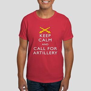 Keep Calm Call for Artillery T-Shirt