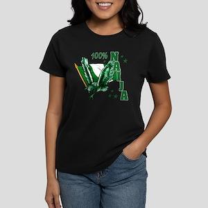 100% Nigerian Women's Dark T-Shirt