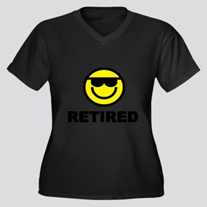 RETIRED Plus Size T-Shirt