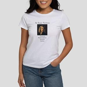 Autistic Isaac Newton Women's T-Shirt