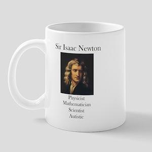 Autistic Isaac Newton  Mug
