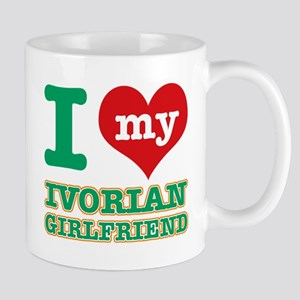 Ivorian Girlfriend designs Mug