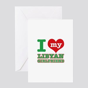 Libyan Girlfriend designs Greeting Card