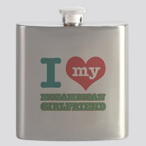 Mozambican Girlfriend designs Flask