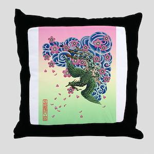 Tattoo Fenghuang Throw Pillow