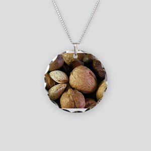 039_Food Necklace Circle Charm