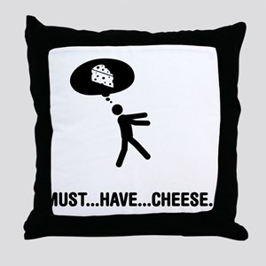 Cheese Lover Throw Pillow