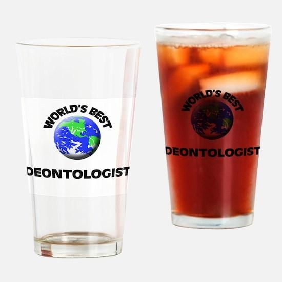 World's Best Deontologist Drinking Glass