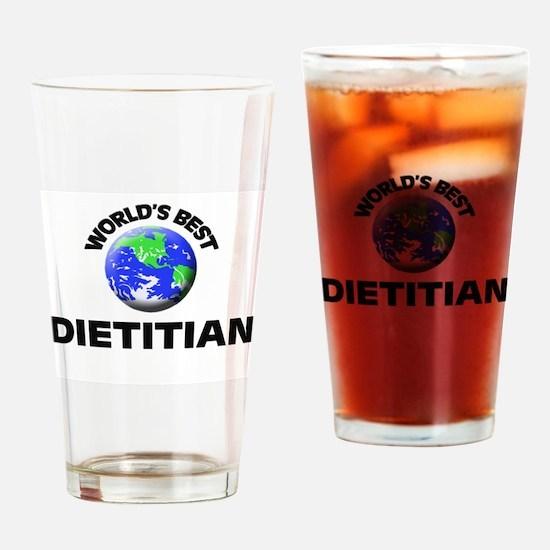 World's Best Dietitian Drinking Glass