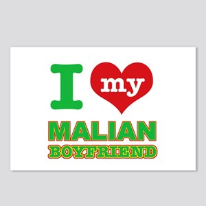 I love my Malian Boyfriend Postcards (Package of 8