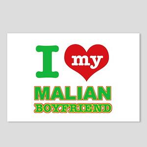 I love my Malian Boyfriend Postcards (Package of 8