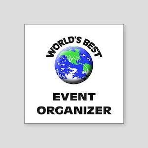 World's Best Event Organizer Sticker