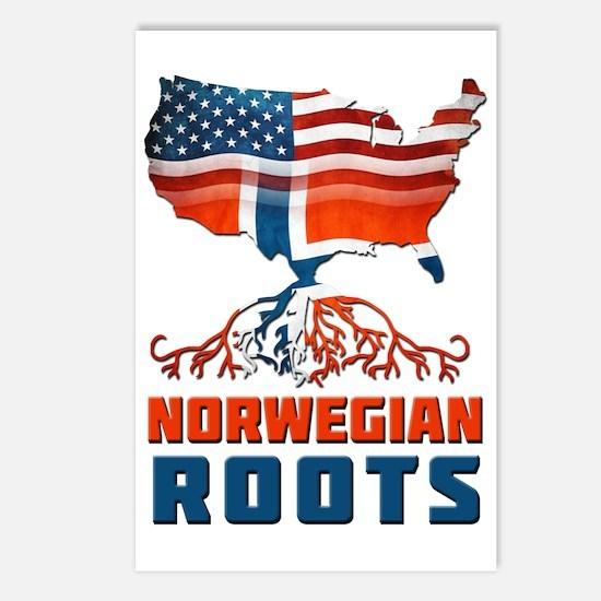American Norwegian Roots Postcards (Package of 8)