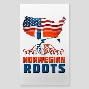 American Norwegian Roots Sticker
