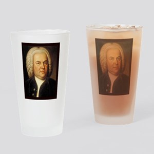 Johann Sebastian Bach Drinking Glass