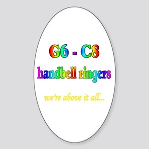 G6-C8 Oval Sticker