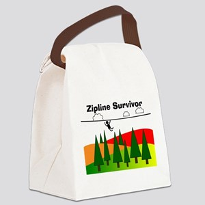 Zipline Survivor Canvas Lunch Bag