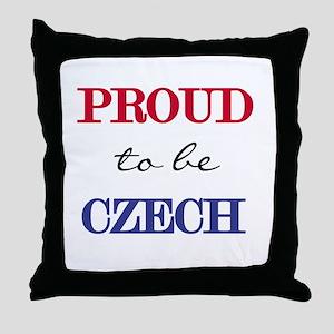 Czech Pride Throw Pillow