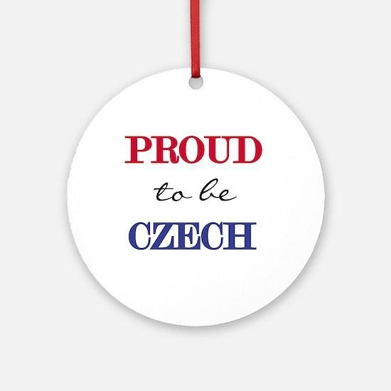 Czech Pride Ornament (Round)