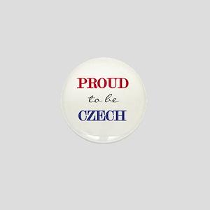 Czech Pride Mini Button