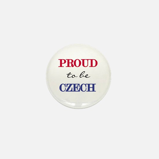 Czech Pride Mini Button