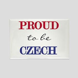 Czech Pride Rectangle Magnet