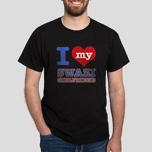 I love my Swazi Boyfriend Dark T-Shirt