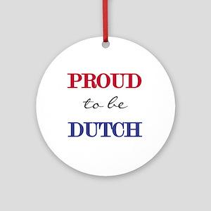 Dutch Pride Ornament (Round)