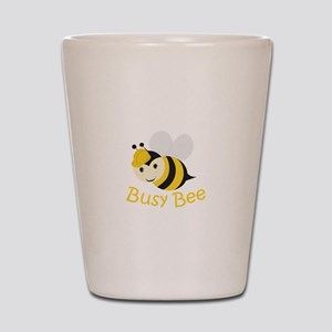 Busy Bee Shot Glass