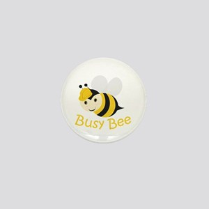Busy Bee Mini Button